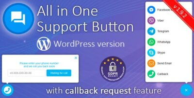 All In One Support + Callback Request Plugin