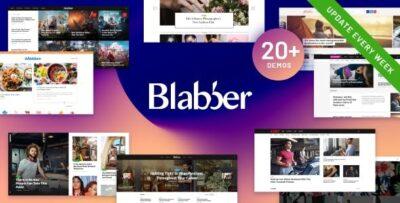 Blabber Elementor Blog & Magazine Theme