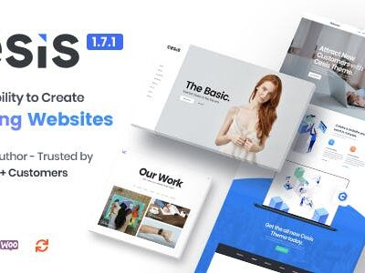 Cesis Multi Purpose WordPress Theme