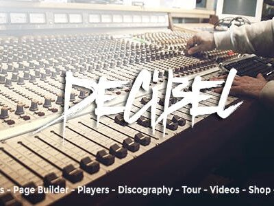 Decibel Professional Music WordPress Theme