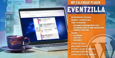 EventZilla Event Calendar WordPress Plugin