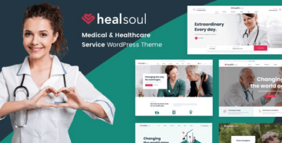 Healsoul Medical Care And Healthcare Theme