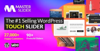 Master Slider Touch Layer Slider WordPress Plugin