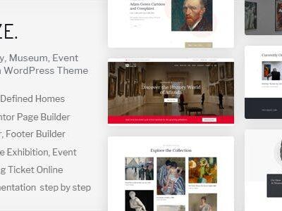 Muzze Museum Art Gallery Exhibition Theme