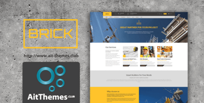Ait Brick Wordpress Theme