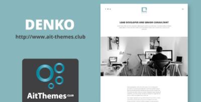 Ait Denko Wordpress Theme