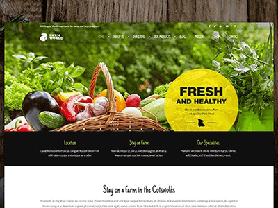 Ait Farmworld Wordpress Theme