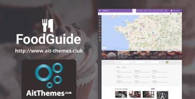 Ait Foodguide Wordpress Theme