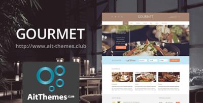 Ait Gourmet Wordpress Theme