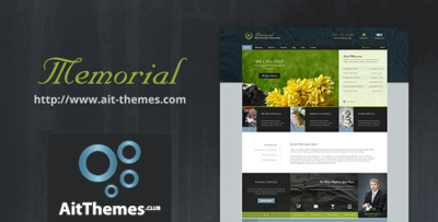 Ait Memorial Wordpress Theme