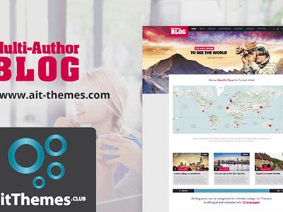 Ait Multi Author Blog Wordpress Theme