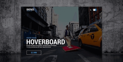 Ait Onepage Wordpress Theme