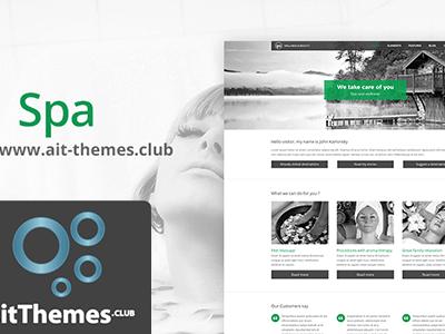Ait Spa Wordpress Theme