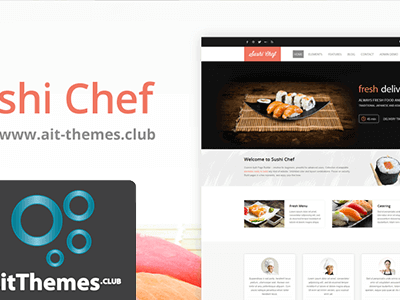 Ait Sushi Chef Wordpress Theme