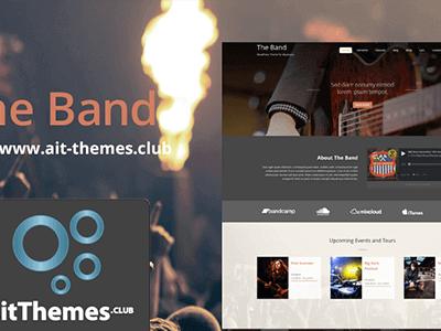 Ait The Band Wordpress Theme