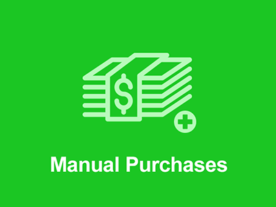 Easy Digital Downloads Manual Purchases