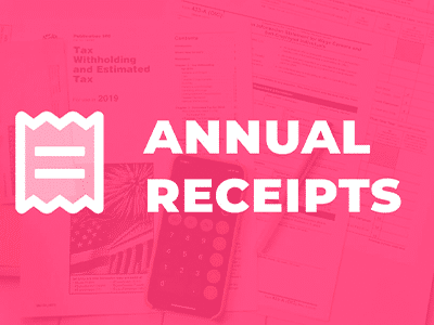 Givewp Annual Receipts Add On