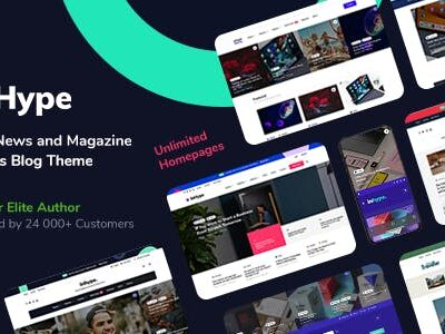 InHype Blog & Magazine WordPress Theme