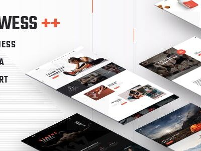 Prowess Fitness And Gym Theme