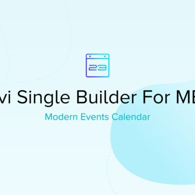 Mec Divi Single Builder