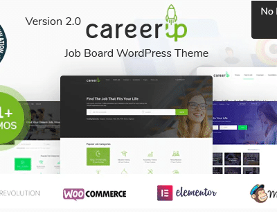 CareerUp Job Board WordPress Theme