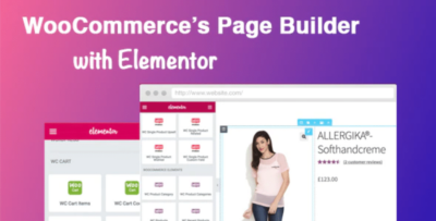 DHWC Elementor WooCommerce Page Builder With Elementor