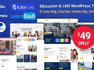 Edubin – Education WordPress Theme