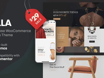 Molla Multi Purpose WooCommerce Theme