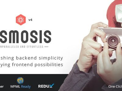 Osmosis – Responsive Multi Purpose WordPress Theme