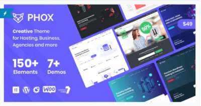 Phox Hosting WordPress & WHMCS Theme