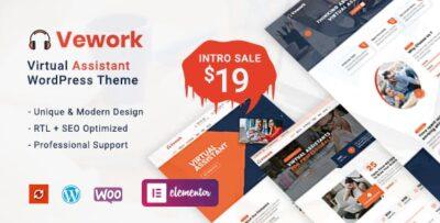 Vework Virtual Assistant WordPress Theme