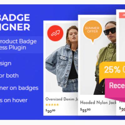 Woo Badge Designer
