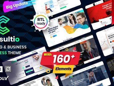 Consultio Corporate Wordpress Theme