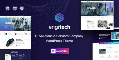 Engitech IT Solutions & Services WordPress Theme