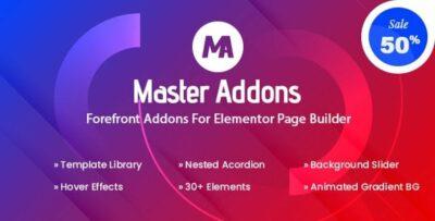 Master Addons Pro For Elementor