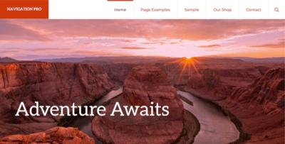 Studiopress Navigation Pro Wordpress Theme