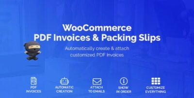 WooCommerce PDF Invoices & Packing Slips