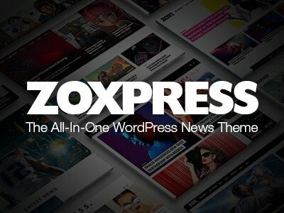 Zoxpress All In One Wordpress News Theme